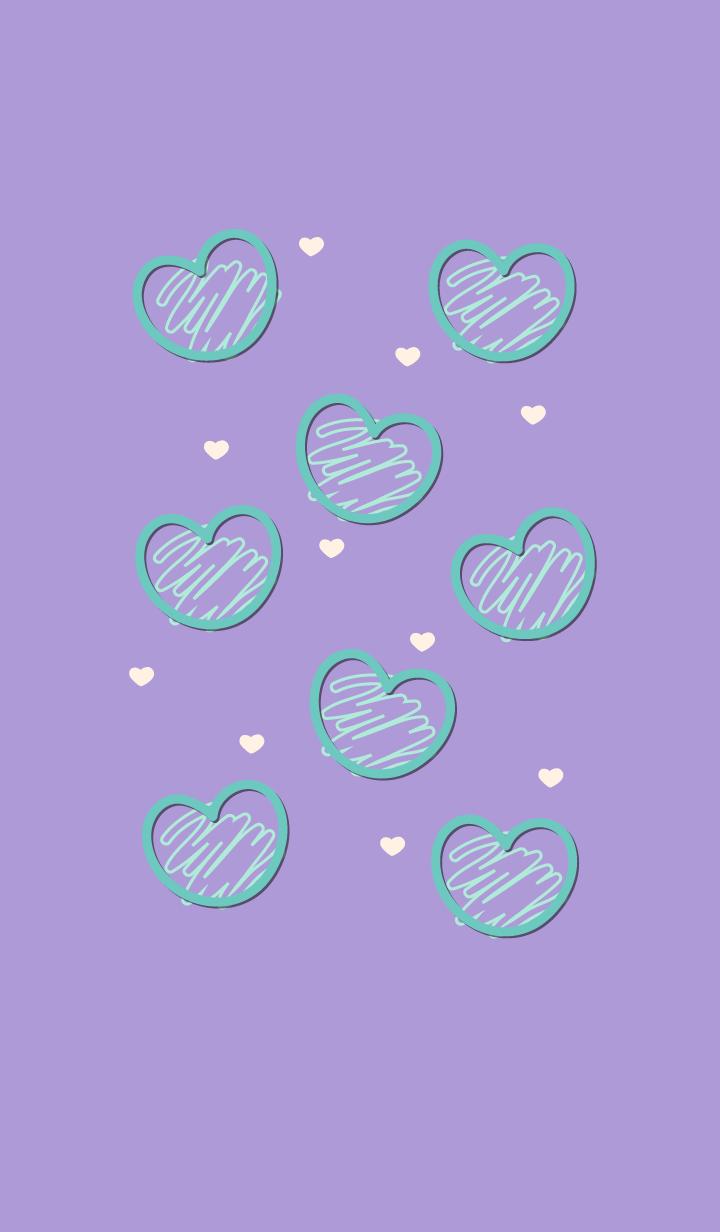 Sweet mini heart 58