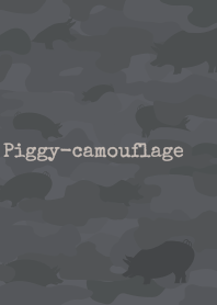 Piggy-camouflage + terracotta/yl [os]
