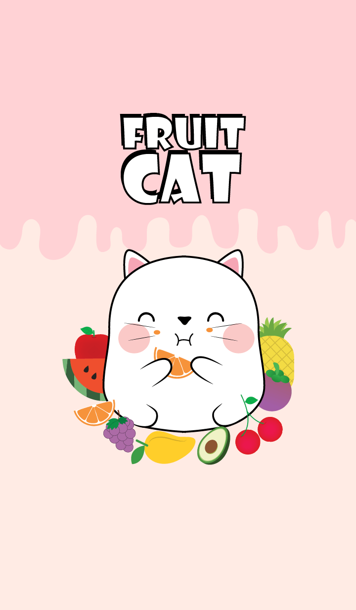 White Cat And Fruit Theme (jp)