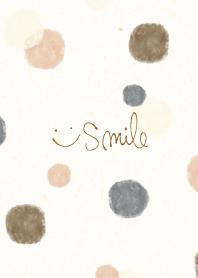 Watercolor Circle patterns Smile17