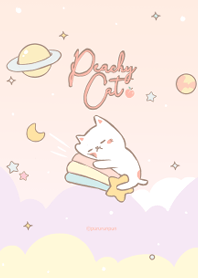 Peach Cat Galaxy