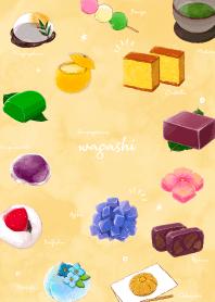 午餐的日本甜點
