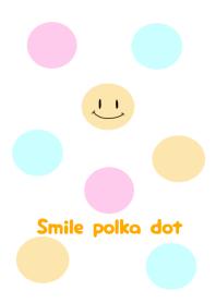 Smile polkadot.