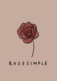 Adult ROSE and beige.