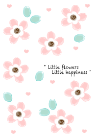 Baby pink flowers 21