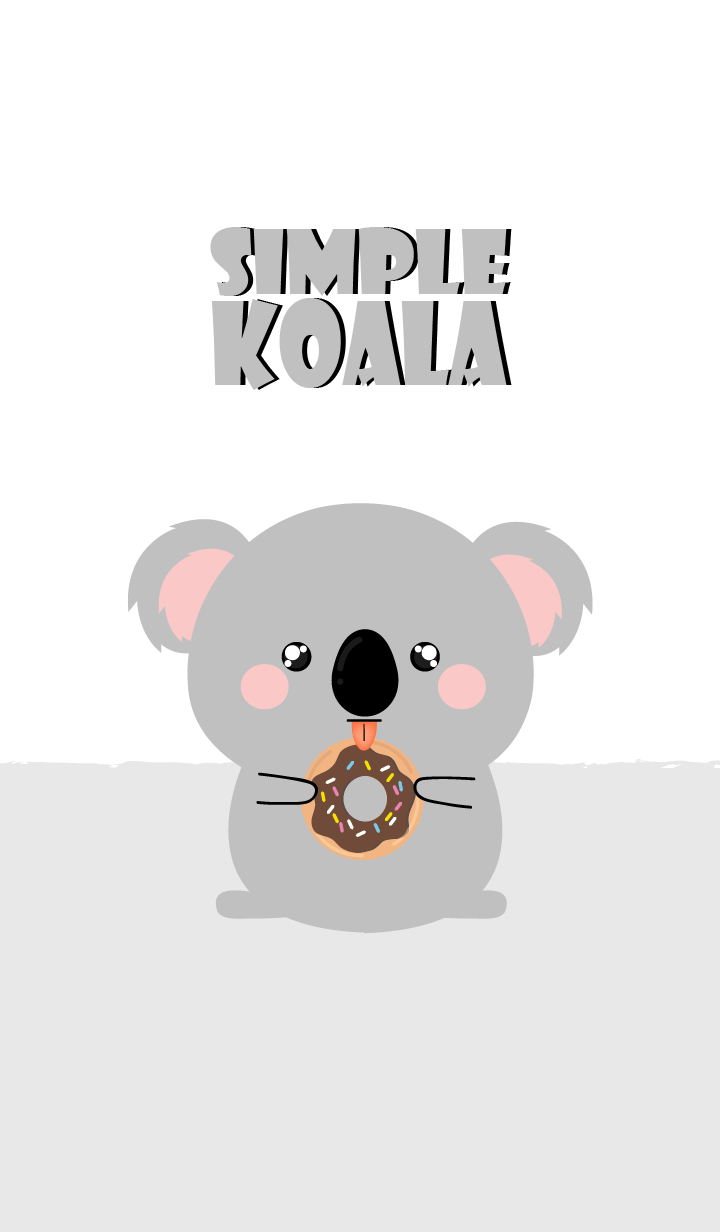Simple Cute Koala Theme Ver2 (jp)