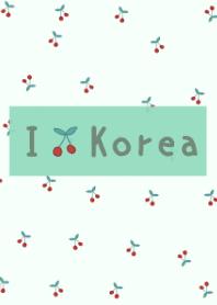 -mintgreen- korean cherry