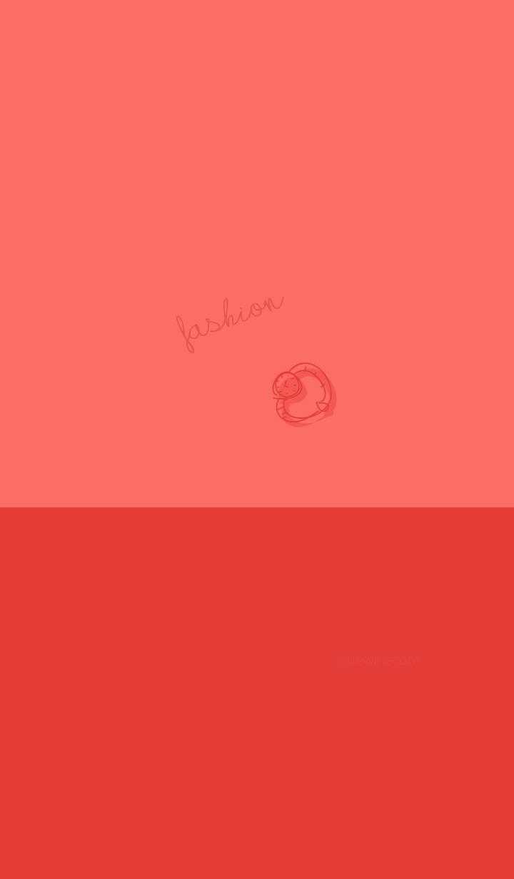 fashion poppy red