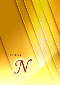 "Initial ""N""_Happy Gold"