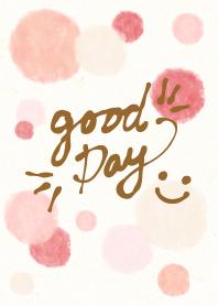 Watercolor Polka dot5 - smile24-