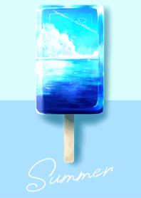 夏天風景冰