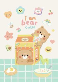 I am Bear Cutie (Pastel)