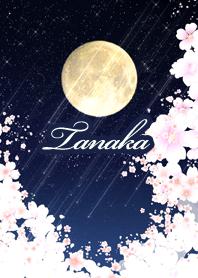 Tanaka yozakura to tuki