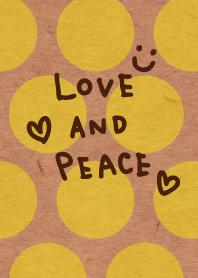 Yellow dot kraftpaper - smile30-