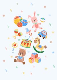 My dream toys house b-w