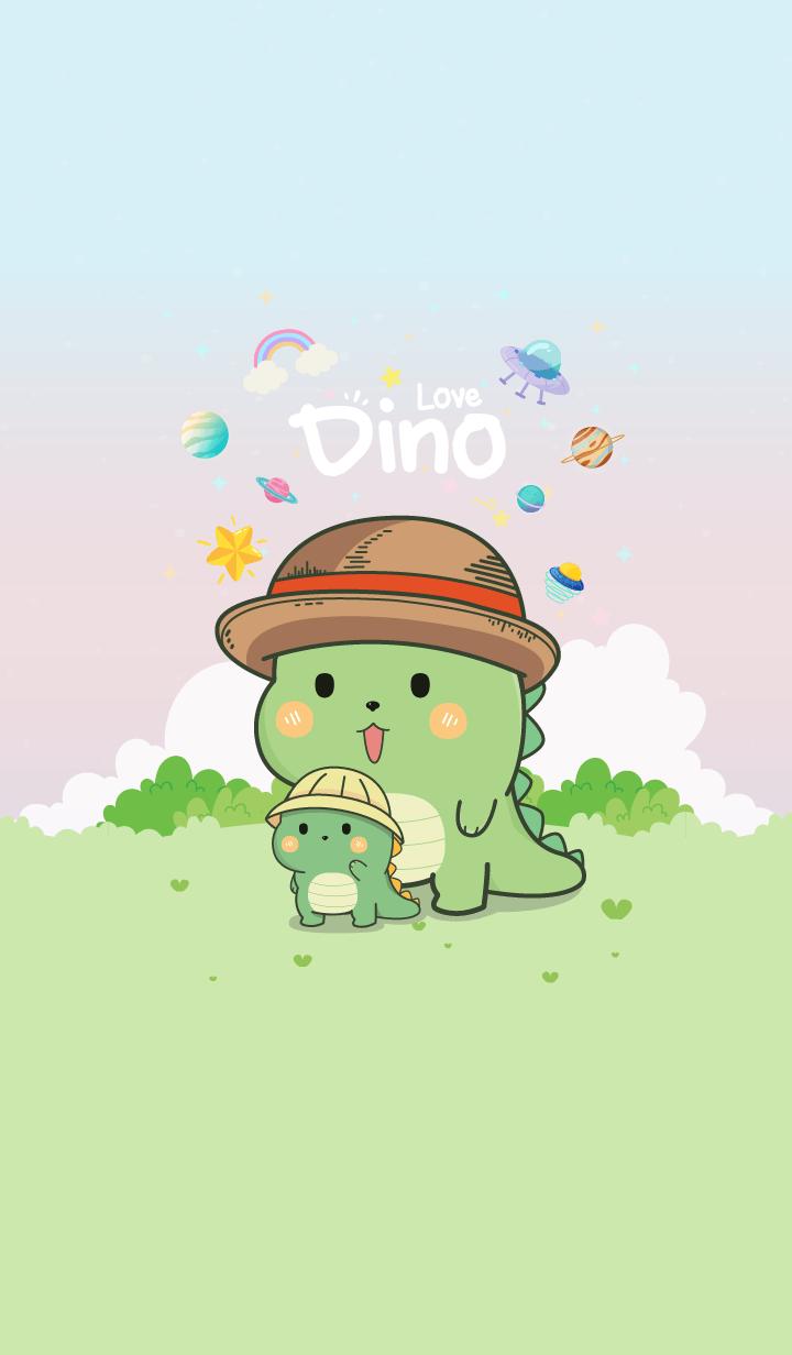 Dino Garden Pastel
