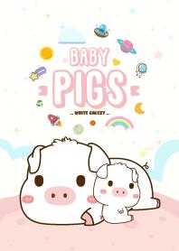 Baby Pig Galaxy White