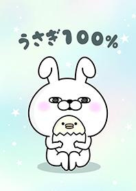 ธีมไลน์ Rabbit 100% ป๊อปอาร์ท