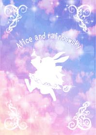 Alice and rainbowsky