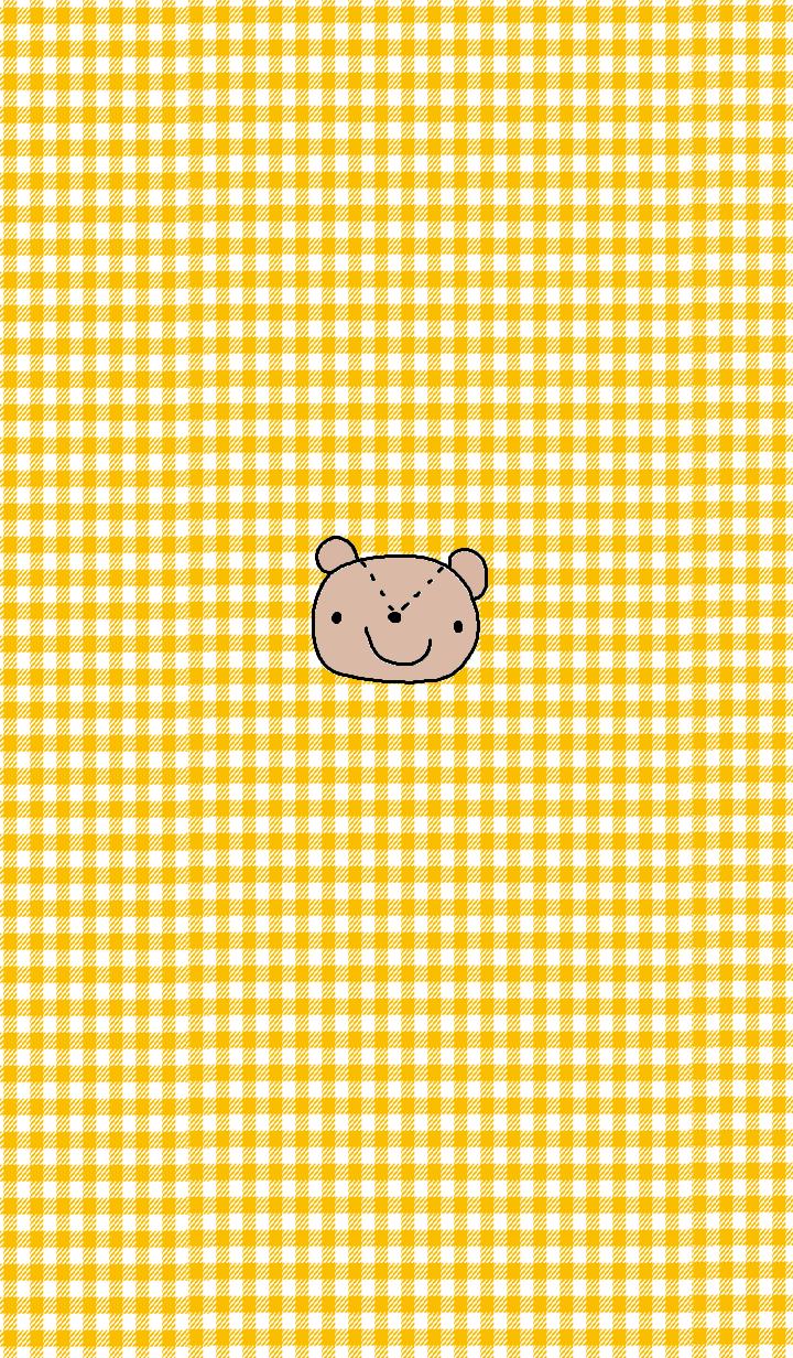 simple Bear theme yellow