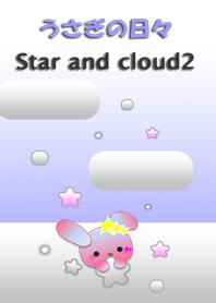 Rabbit daily<Star and cloud2>