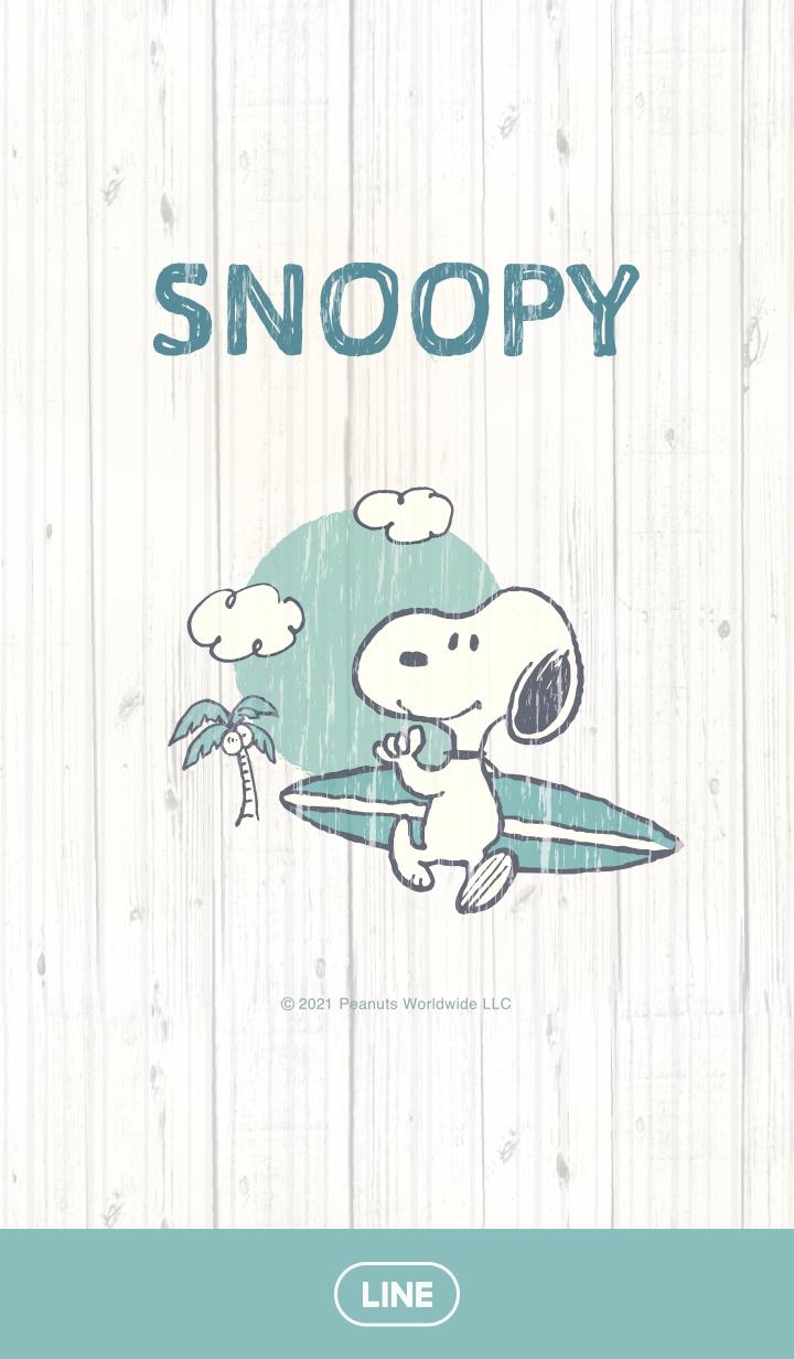 【主題】Snoopy(衝浪篇)