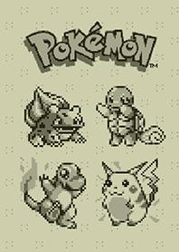 Pokémon遊戲點陣主題