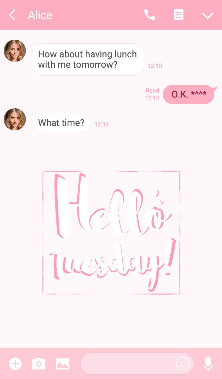 Hello Tuesday!!
