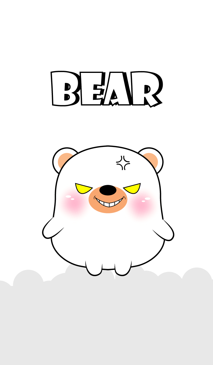Emotion Angry White Bear (jp)