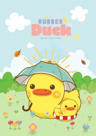 Rubber Duck Garden Galaxy Lovely