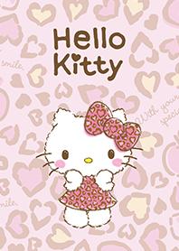 凱蒂貓 粉紅豹紋