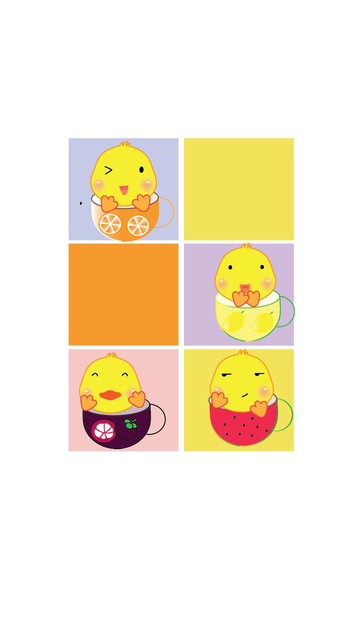 Simple cute duck theme v.7 (JP)