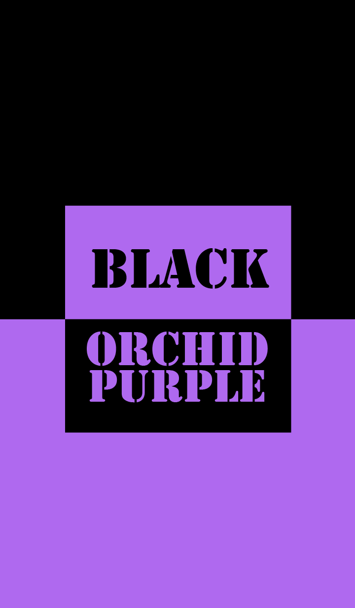 Orchid Purple & Black Vr.2