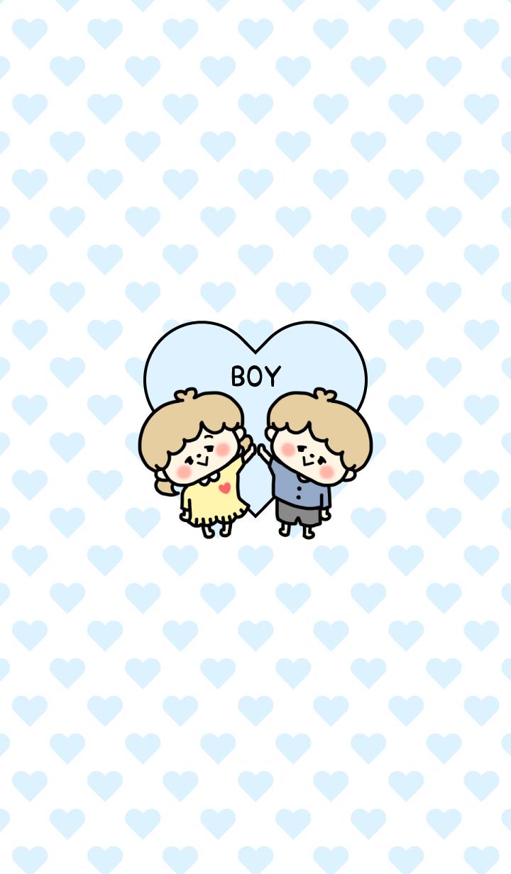 Love Love Couple Theme - Boy ver - 8