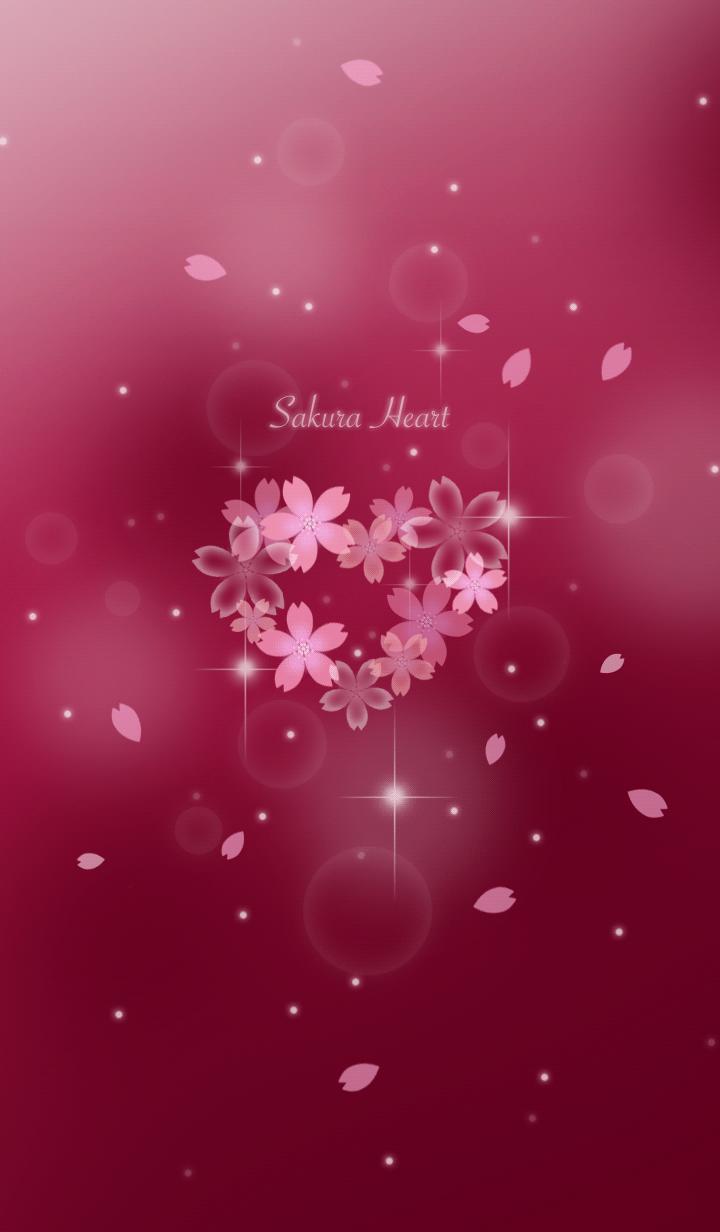 Sakura Heart Happy Theme