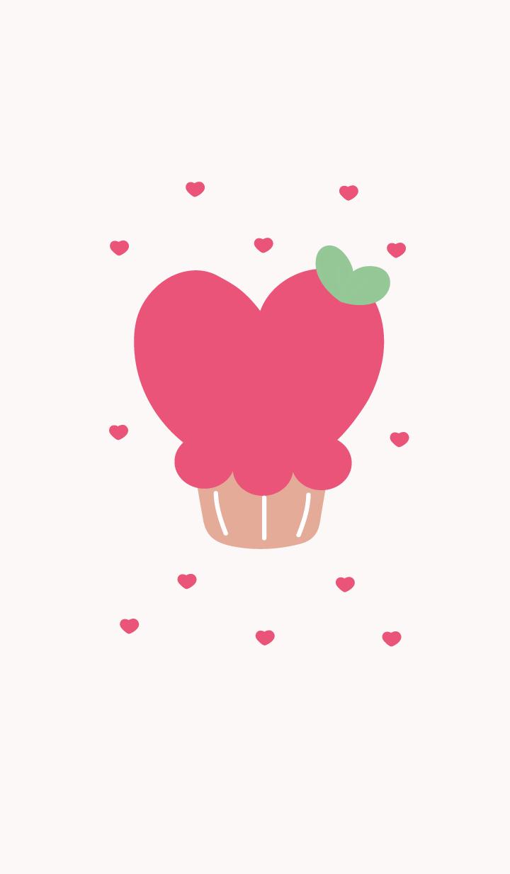 lovely heart cake 4