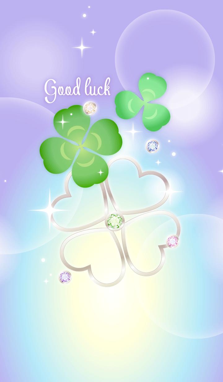 Fortune rising! Good luck clover