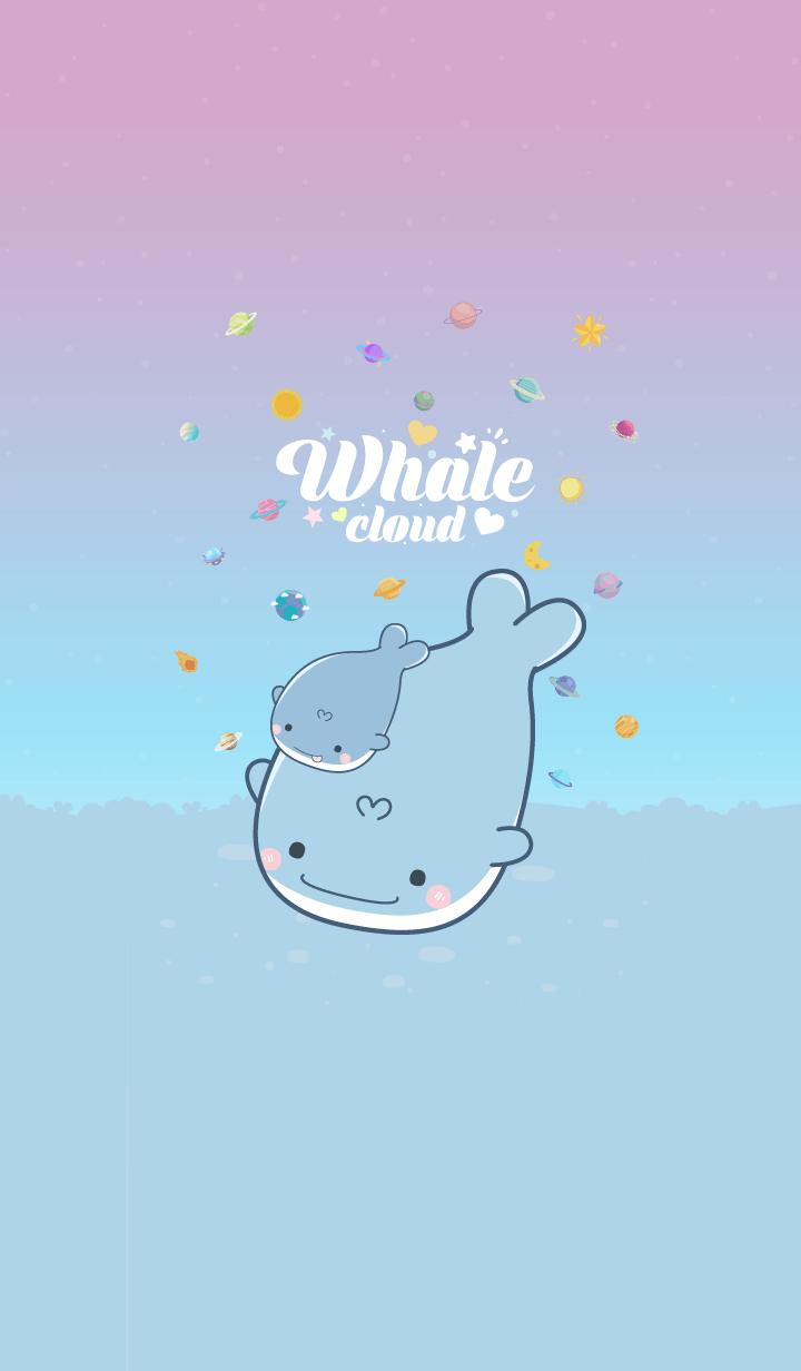 Whale Cloud Pea Flower