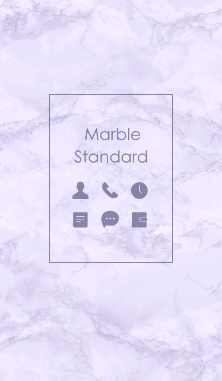 Marble Standard #Lavender
