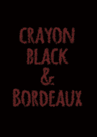 Crayon Black & Bordeaux / Circle
