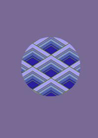 Japan's most beautiful pattern purple