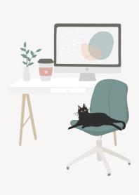 my desk - minimalist workspace