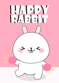 Happy Happy White Rabbit Theme
