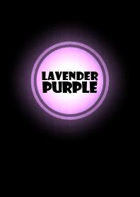 Simple lavender purple in black