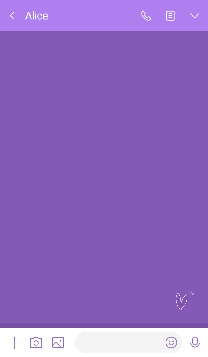 Friendly violet violet