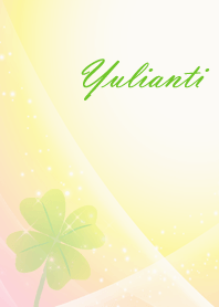No.1595 Yulianti Lucky Clover name
