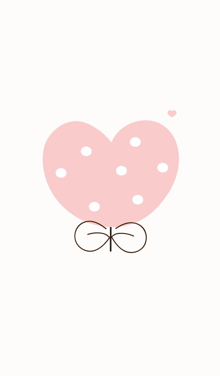 Lovely heart flower