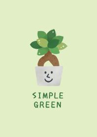 SIMPLE GREEN/Foliage plant