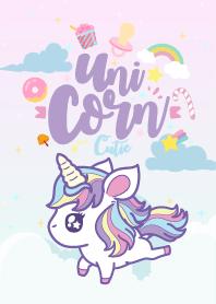 Unicorn Kawaii Love So cute