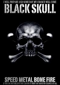 Speed Metal Bone Fire Black...